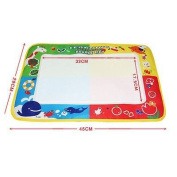 . Baby Water Drawing Toys Aqua doodle Mat & 1 Magic Pen Water Drawing board 4 colour