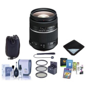 Sony 28-75mm f/2.8 SAM Alpha A DSLR Mount Zoom Lens - Bundle With 67mm Filter Kit, Lens Case, Lens Wrap (15x15), Cleaning Kit, Capleash II, Pro Software Package