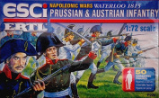 ESCI - ERTL Set P226 Prussian and Austrian Infantry Plastic Toy Soldiers in 1/72 scale