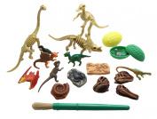 Dinosaur Dig Excavation Sensory Bin Toy - Dino skeleton, fossil Game, digging for dinosaur bones