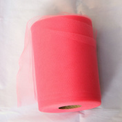 Coral Tulle Roll - 15cm X 100 Yard - Tulle for Decoration and Tutu Dresses