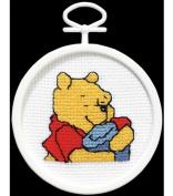 Janlynn Pooh's Hunny Mini Cntd X-Stitch Kit
