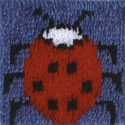 Krafty Kids Latch Hook Kit 20cm x 20cm Lady Bug