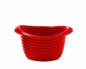 Siliconezone 16cm 470ml Silicone Melty Melting Pot, Red