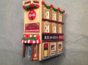 Coca-cola Town Square Lighted Christmas House Building Confectionery Shoppe