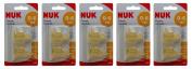 Multibuy 5x NUK® Classic Standard Latex Teat Small Hole (Size 1) 0-6mths