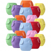 20 Pcs Baby Infant Cloth Nappies Reusable Washable Leakproof Nappy Nappy