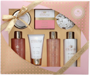 Style & Grace Pink Peppercorn Utopia Bathing Experience Toiletries Pack Of 6 Uk
