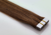 Real Hair Tape-In/On Extensions, 40 cm, 2.5 g, 4 cm, 10 Braids