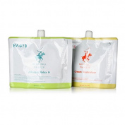 BEVERLY HILLS POLO CLUB Hair Straightener cream set (Each 400ml) * For Healthy Hair *