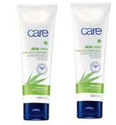 2 x Avon Care hand, Nail and cuticle lotion with aloe vera and vitamin E x 100ml