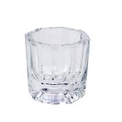 Nail Beauty Glass Crystal Cup Nail Art Acrylic Liquid Powder Dappen Dish Glassware Tool Nail Art Equipment