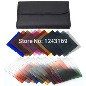 Ryadia(TM) 24 Square Colour Full + Graduated Filter ND2 4 8 G.ND2 4 for Cokin P Series LF77