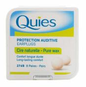 5 x Quies Wax Ear Plugs 8 Pairs Five packs - Super Deal