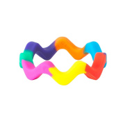 Wave Chew Bangle Pride by Chewigem - Sensory Chew Product
