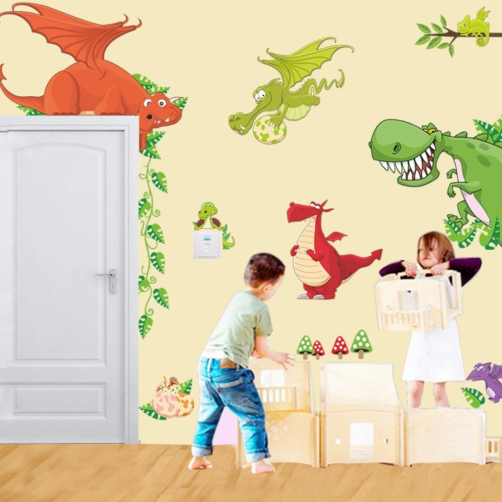 Dinosaur Wall Sticker Homeware: Buy Online from Fishpond.co.nz