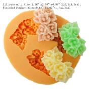 YL Flower Y046 Silicone Soap mould Craft Moulds DIY Handmade soap mould