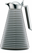 alfi Agate Insulated Thermos CAN 1560,218,100 Varnished Aluminium - 1 Litre-Space grey