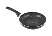 Home Stone Frying Pan with Nonstick Coating, Stone, Charcoal /Grey, 20 cm