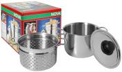 Frabosk Arianna Pasta Pot, Steel, 3.5 Litres, 18 cm Diameter