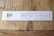 Gisela Graham Wedding Certificate Keepsake Box