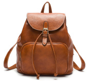 AB Earth Womens Cow Leather Casual Daily Backpack Handbag, M752