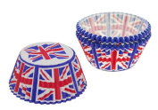 Cupcake Creations, Union Jack Cupcake Cases, 32