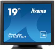 IIYAMA T1931SR-B1 - 19TFT LCD Touch Screen Resistive USB & Serial I/F Black (Manufacturer's SKU:T1931SR-B1)'