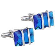 1 Pair Mens Cool Copper Cufflinks for Wedding Party Date