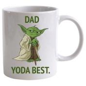 """Star Wars """"Dad Yoda Best"""" Mug"""