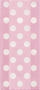 Cellophane Baby Pink Polka Dot Party Bags, Pack of 20