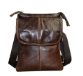 Genda 2Archer Mini Leather Cross Body Bag Phone Pouch for Men