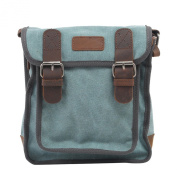 NiSeng Men's Vintage Canvas Travel Cross-body Satchel Messenger Shoulder Bag