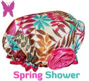 Lula Lilly Designer Shower Cap for Small & Petite Women