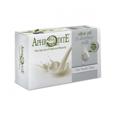 The Youth Elixir - Aphrodite Olive Oil & Donkey Milk Soap 100g