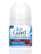 Ice Guard Natural Crystal Rollerball Deodorant with Rose 50ml