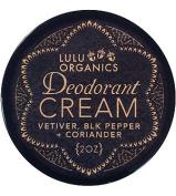 Deodorant Cream Vetiver, Black Pepper & Coriander 60ml by Lulu Organics