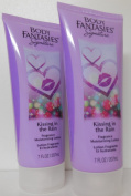 x2 Body Fantasies Kissing In The Rain Body Lotion 210ml each