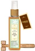BodyHerbals Ancient Ayurveda Sensual, Natural Jasmine & Vanilla Cold Pressed Body Massage Oil, 100ml