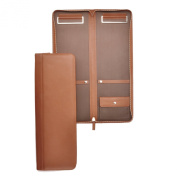 Tie Case - Full Grain Leather - Cognac