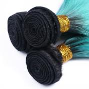 Brazilian Virgin hair Straight 7A Grade Virgin Unprocessed Human Hair10 To 80cm Green Hair 4 Bundles Cheap Price Queen Love Products