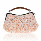 KAXIDY Evening Bag Imitation Pearl Rhinestones Clutch Purse Handbag Clutches Party Wedding Bags