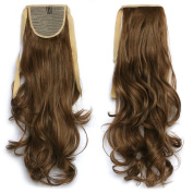 NiCheng 50cm 90g Blend Colour Curly/wavy Drawstring Ponytails Clip-in Hair Extensions Synthetic Women's Hairpieces