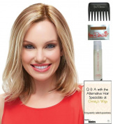 Karlie Wig by Jon Renau, Christy's Wigs Q & A Booklet, 60ml Travel Size Wig Shampoo, Wig Cap & Wide Tooth Comb colour SELECTED