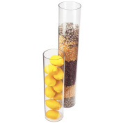 Cal-Mil 872-24 Round Accent Display, 10cm Diameter x 60cm Height, Clear