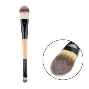 FiveBull Dual Ended Multifunctional Eyeshadow Cream Concealer Liquid Foundation Blending Lip Makeup Brushes Beauty Cosmetics Kit