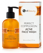 Acne Face Wash for Sensitive & Oily Skin. Naturally Cleans to Treat Blemishes, Pimples and Blackheads. Non Drying, Non Oily.