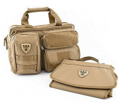 Tactical Baby Gear Military Style All-In-One 2.0 MOLLE Nappy Bag + Changing Mat/Pad