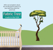 Jungle Tree Wall Decals, Jungle Stickers with Safari Tree Decal