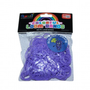 ASAH Scented Loom Bands 300pce with 16 S Clips - Grape